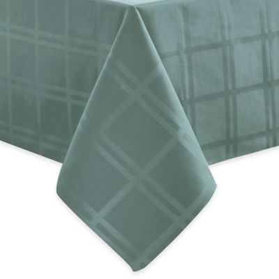 Origins™ Microfiber 52-Inch x 52-Inch Tablecloth in Turquoise