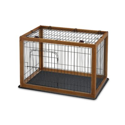 Brown Pet Pen
