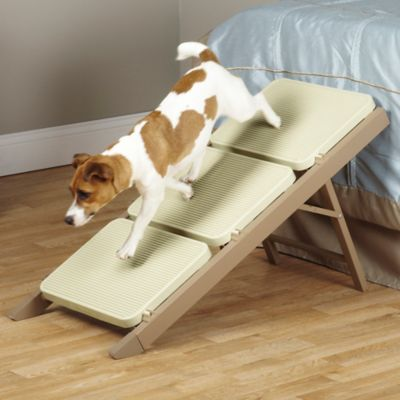Pet Studio 3-Step Metro Ramp Step in Brown