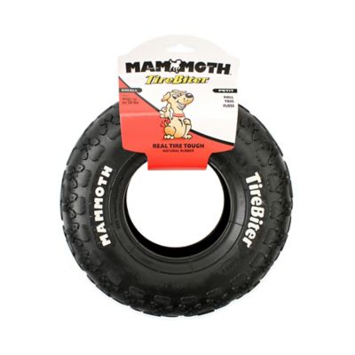 Mammoth Small TireBiter Toy in Black