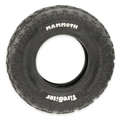 Mammoth Medium Tire Biter Toy in Black