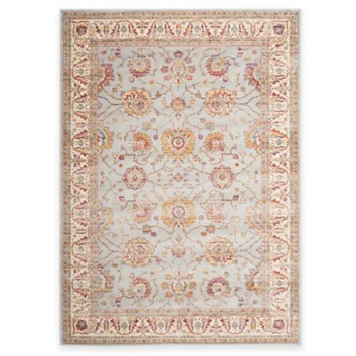 Safavieh Sevilla Traditional Border 4-Foot x 5-Foot 7-Inch Area Rug in Ivory/Multicolor