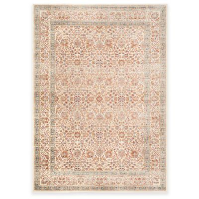 Safavieh Sevilla Diamonds 4-Foot x 5-Foot 7-Inch Area Rug in Ivory/Multicolor