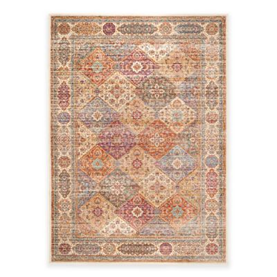 Safavieh Sevilla Patchwork 5-Foot 3-Inch x 7-Foot 6-Inch Area Rug in Multicolor