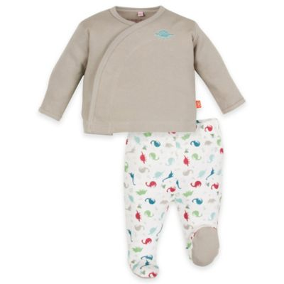 Magnificent Baby® Newborn 2-Piece Dino Expedition Smart Close™ Top and Pant Set