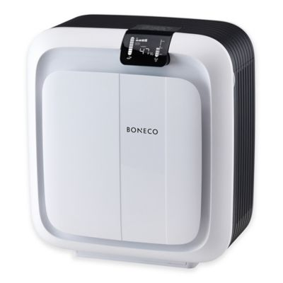 Boneco H680 Hybrid Humidifier & HEPA Air Purifier in Black/White