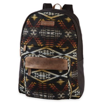 Pendleton® Canvas Backpack in Diamond River Black