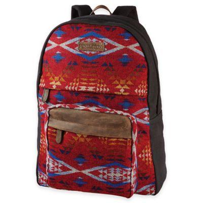 Organic Red Luggage