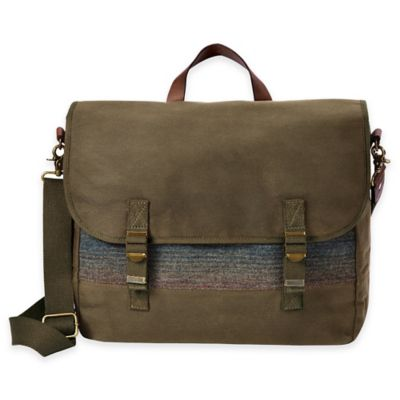Pendleton® Rugged Messenger Bag in Yakima Camp Stripe