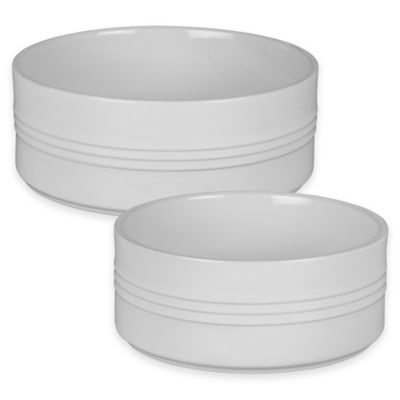 Le Creuset® 1 Quart Soufflé Dish in White