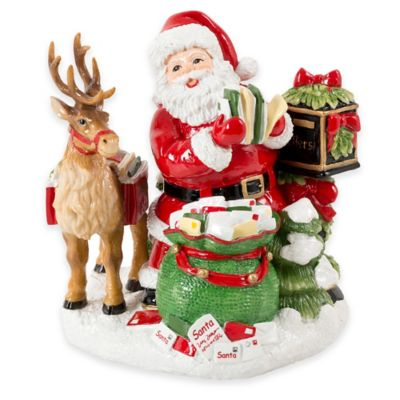 Fitz and Floyd® Letters to Santa Musical Figurine