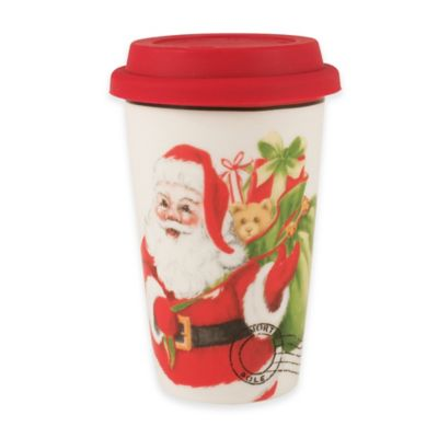 Fitz and Floyd® Letters to Santa Travel Mug