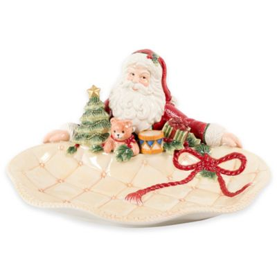 Fitz and Floyd® Night Before Christmas Santa Server