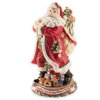 Fitz and Floyd® Night Before Christmas Santa Figurine/Vase