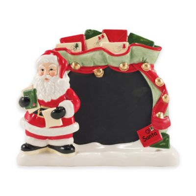 Fitz and Floyd® Letters to Santa Tablet Holder/Chalkboard