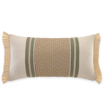 Croscill® Cottage Rose Boudoir Throw Pillow