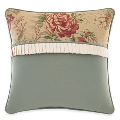 Croscill® Cottage Rose Fashion Throw Pillow