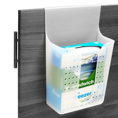 madesmart® Plastic Door Store Wrap and Bag Holder