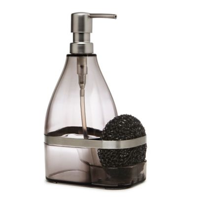 Umbra® Bando Soap Pump with Scrubby in Smoke