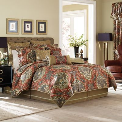 Croscill® Orleans Reversible California King Comforter Set