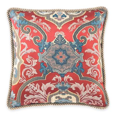 Croscill® Orleans Reversible Square Throw Pillow