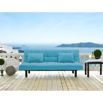 Serta Dream Convertibles St. Lucia Sofa in Emerald Glaze