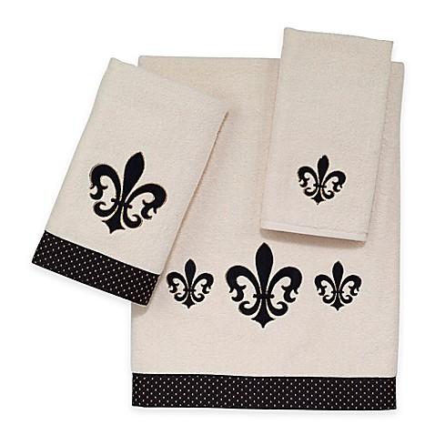 Buy avanti luxemborg fleur de lis bath towel from bed bath beyond - Fleur de lis bath towels ...
