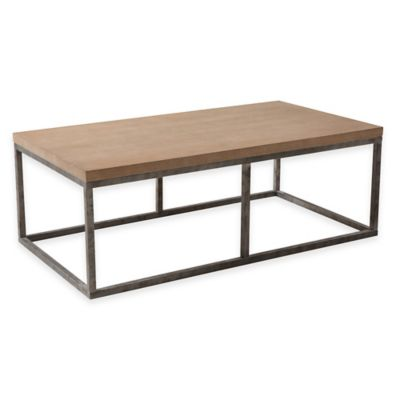 Algiers Coffee Table in Antique White