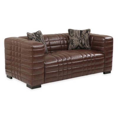 Diesel Loveseat in Brown
