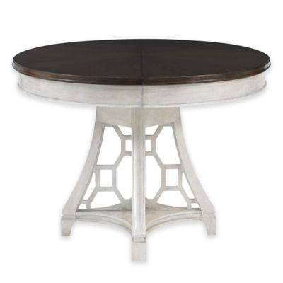 Stanley Furniture Fairlane Oval Table in Luna