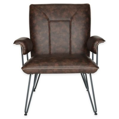 Safavieh Johannes Arm Chair in Brown