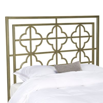 Safavieh Lucina Twin Metal Headboard in French Silver