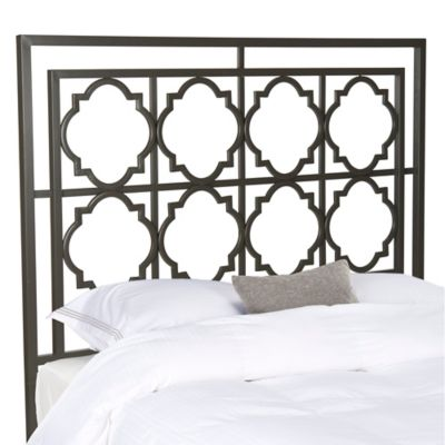Gunmetal Metal Headboard