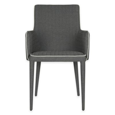 Safavieh Summerset Armchair in Black