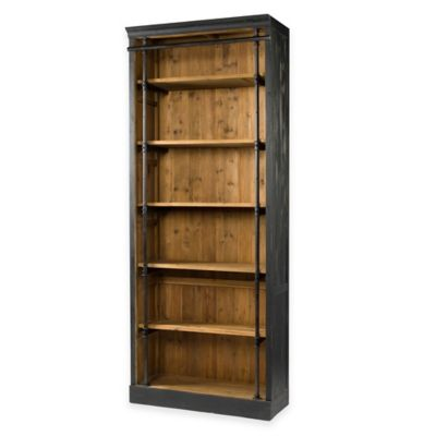Buy Wooden Folding And Stacking Bookcase In Black From Bed