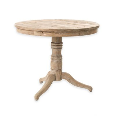 Urban Oasis Upton Round Occasional Table in White