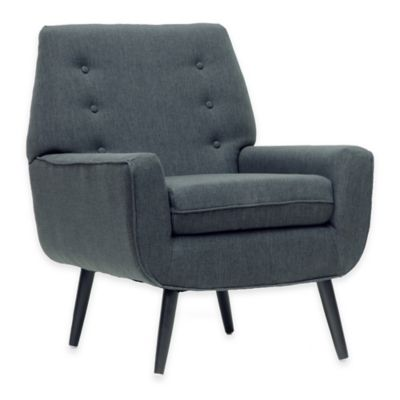 Baxton Studio Levison Modern Accent Chair in Grey
