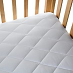 Quilted 100% Cotton Waterproof Crib Pad by bb Basics
