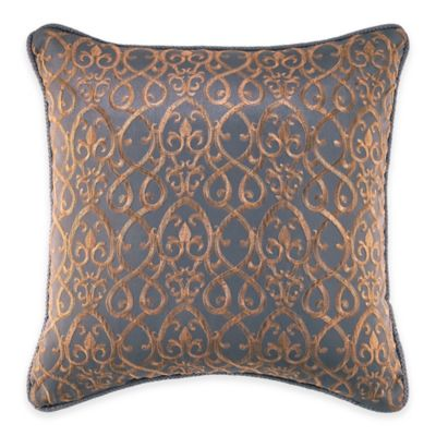 Croscill® Ryland Fashion Throw Pillow in Blue