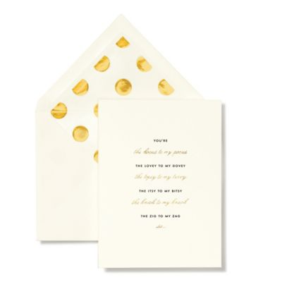 kate spade new york Bridesmaid Thank You Cards (Set of 10)