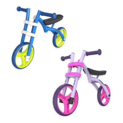 YBIKE Extreme 2.0 Deluxe Balance Bike in Blue