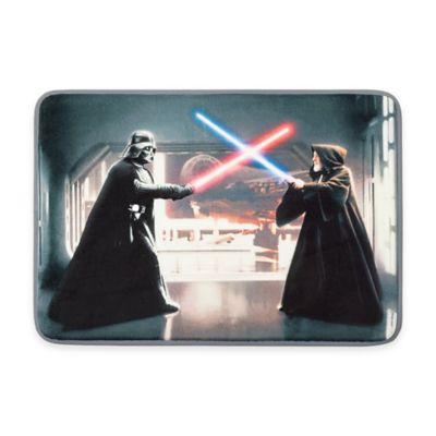 Aquatopia™ Star Wars™ Light Saber Memory Foam Accent Mat