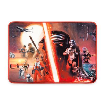 "Aquatopia™ Star Wars™ ""Episode VII-The Force Awakens"" Memory Foam Accent Mat"