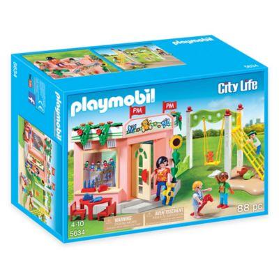 Playmobil® Preschool with Playground