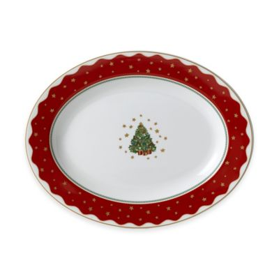P by Prouna My Noel 14-Inch Oval Platter