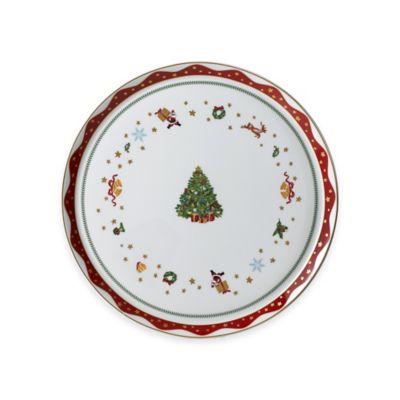 P by Prouna My Noel 12.5-Inch Round Platter