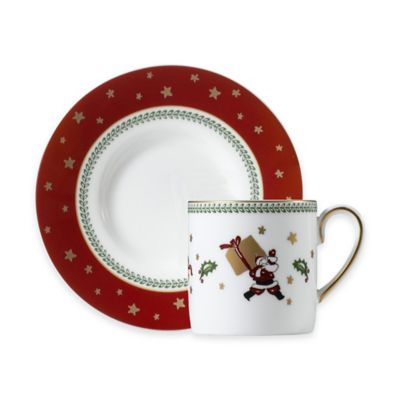 P by Prouna My Noel Espresso Cup and Saucer