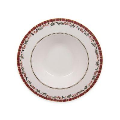 10 White Rimmed Soup Bowl