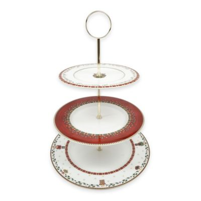P by Prouna Nutcracker 3-Tier Cake Stand