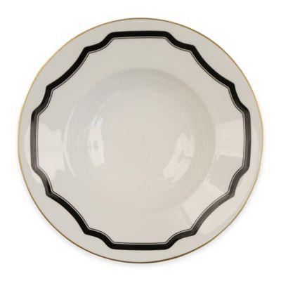 White Black Mixing Bowl
